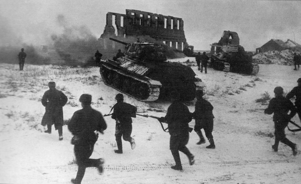 Russia: nazisti sotto scacco